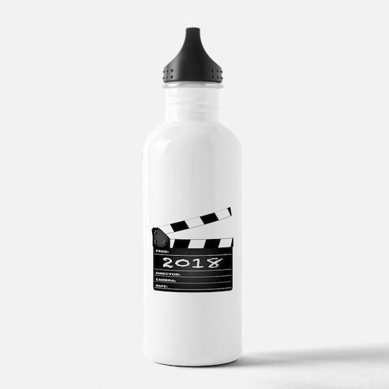 2018 Clapper Board Water Bottle