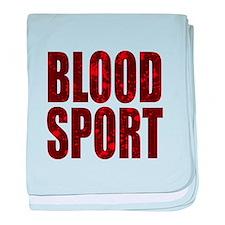 Blood Sport baby blanket