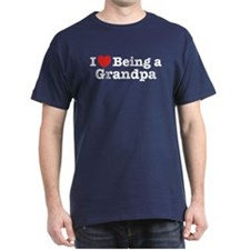 I Love Being a Grandpa T-Shirt