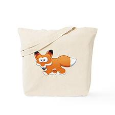 Cartoon Fox Tote Bag
