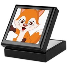 Baby Fox Keepsake Box