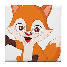 Baby Fox Tile Coaster