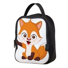 Baby Fox Neoprene Lunch Bag