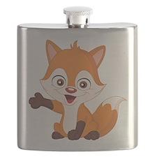 Baby Fox Flask