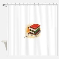 2-33-bookss.GIF Shower Curtain