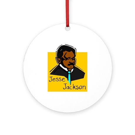 Jesse Jackson Kwanzaa Ornament (Round)