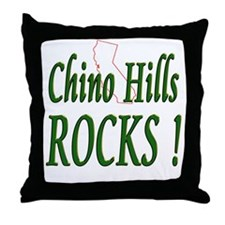 Chino Hills Rocks ! Throw Pillow