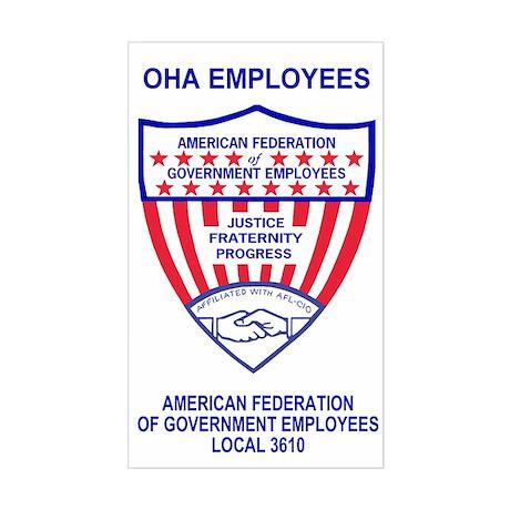 OHA Sticker For AFGE Local 3610
