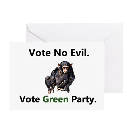 No Evil/Love GP Greeting Cards (Pk of 10)