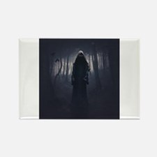 Reaper in the shadows Rectangle Magnet