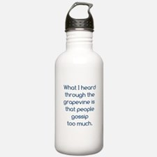 People Gossip Too Much Water Bottle
