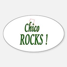 Chico Rocks ! Oval Decal