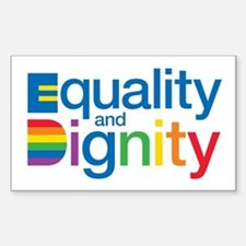 Equality and Dignity Stickers