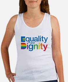 Equality and Dignity Tank Top