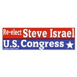 Israel for Congress Bumper Sticker