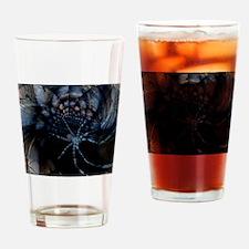 Neon Spider Spiralscope Drinking Glass