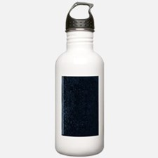Blank Book Cover Water Bottle