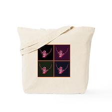 Checkerboard Eye #4, Tote Bag