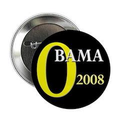 O for Obama 2008 2.25