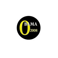 O for Obama 2008 Mini Button (100 pack)