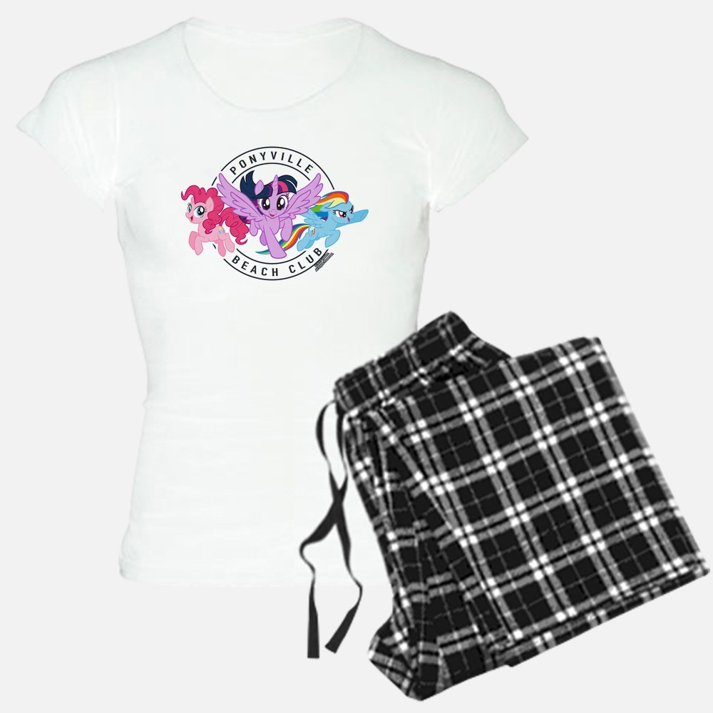 MLP Pi=onyville Beach Club Pajamas