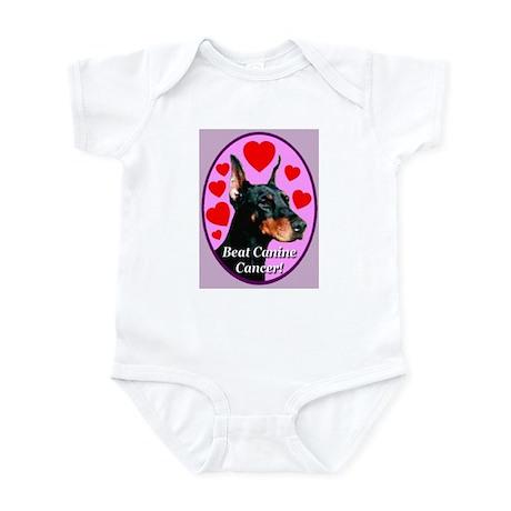 Beat Canine Cancer Infant Bodysuit