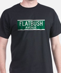 Flatbush Avenue Ash Grey T-Shirt