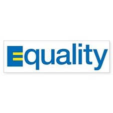 Equality Bumper Bumper Sticker