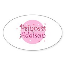 Addison Oval Decal