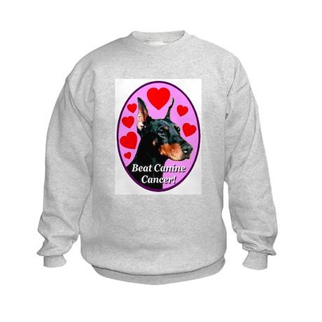 Beat Canine Cancer Kids Sweatshirt