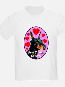 Beat Canine Cancer Kids T-Shirt