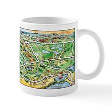 Cute Map of florida Mug