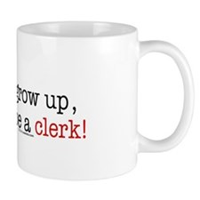 ... a clerk Small Mug