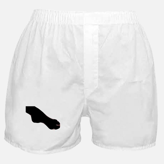 Stocking Clad Ankle Boxer Shorts