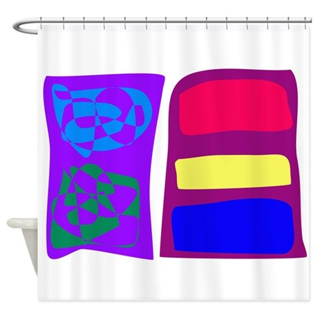 Simple Ideas Shower Curtain by Masabos lineStore5