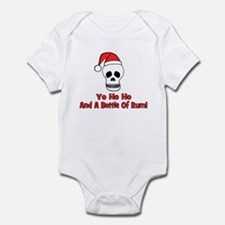 Yo Ho Ho & A Bottle Of Rum Infant Bodysuit