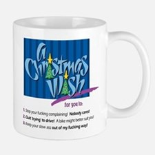 Christmas Wish (Sarcastic) Mug