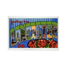 Lancaster Pennsylvania Greetings Rectangle Magnet