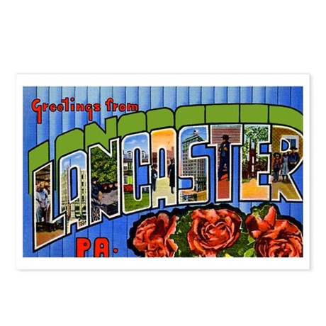 Lancaster Pennsylvania Greetings Postcards (Packag