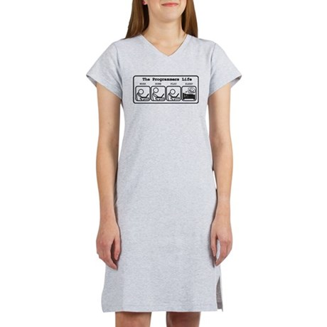 Unique The programmers life Women's Nightshirt