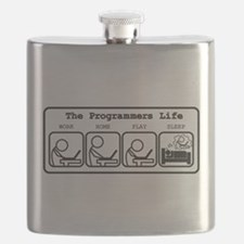 Unique The programmers life Flask