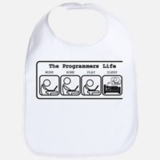 Unique The programmers life Bib