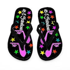 CHIC 45TH Flip Flops
