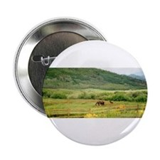 Mother and Baby Moose Button