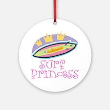 Surf Princess Ornament (Round)