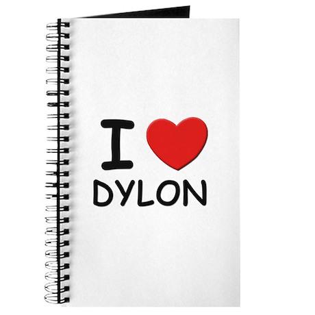 I love Dylon Journal