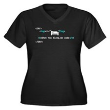 Computer Whisperer Plus Size T-Shirt