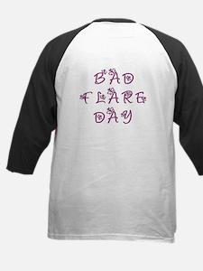 Bad Flare Day Kids Baseball Jersey
