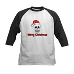 Merry Christmas - Pirate Sant Kids Baseball Jersey
