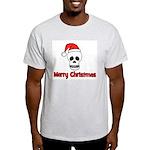 Merry Christmas - Pirate Sant Ash Grey T-Shirt